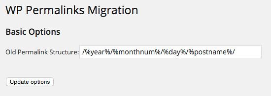 Permalinks Migration