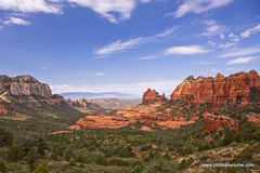 Above Sedona (doveoggi) Tags: travel arizona usa southwest landscape famous sedona cliffs destination redrocks canyons overview buttes schneblyhill 9770 coconinonf