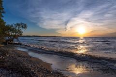 Sunrise at Lynde Shores-3132 (RG Rutkay) Tags: morning nature clouds sunrise landscape shoreline whitby lakeontario lyndeshoresconservationarea