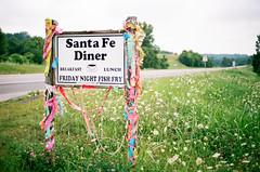 Friday Night Special (TnOlyShooter) Tags: santafe film sign restaurant tennessee diner an olympusom1 fishfry maury kodakportra400 olympusomzuiko50mmf18 filmboxlab