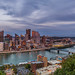 Pittsburgh Skyline at Sunset 01