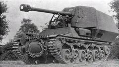 SPG French Lorraine Schlepper (f) (Sd Kfz 135)
