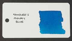 Noodler's Midway Blue - Word Card