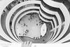 · vertigo · (light thru my lens) Tags: nyc newyorkcity blackandwhite ny newyork blancoynegro architecture arquitectura hand pov manhattan curves vertigo mà mano littlepeople museums blancinegre guggenheimmuseum curvas museos vértigo zenital museus vertigen zenitalview