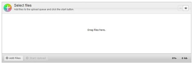 jQueryのプラグインplupload(ファイルアップローダー)