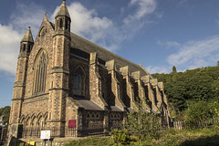 Our Lady & St Andrew Church, Galashiels, Scottish Borders (Colin Myers Photography) Tags: old our church st colin lady photography scotland warm andrews scottish sunny andrew gala oldchurch rc borders myers galashiels scottishborders colinmyersphotography ourladystandrewchurchourladystandrewchurch