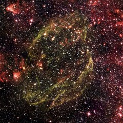 Supernova Remnant W44 (sjrankin) Tags: edited nasa nebula xray chandra w44 supernovaremnant g34704 chandraspacetelescope 8october2015
