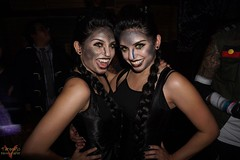Club Cosplay Anaheim October 2015 (V Threepio) Tags: longexposure nightphotography party nerd dance costume outfit geek dancing cosplay posing nightclub anaheim houseofblues hob sonya6000 clubcosplay