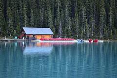 Boat House (artkangels34) Tags: canadianrockymountains lakelouisecanada