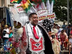 Happy Bolivian (Giant Ginkgo) Tags: newjersey jerseycity dancers unitedstates bolivia parade performers bolivian 2015 bolivianparade 2015bolivianparade