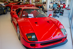 IMG_3450 (Haifax.Car.Spotter) Tags: cars car sport race racecar florida miami ferrari fl legend supercar sportscar f40 superscars