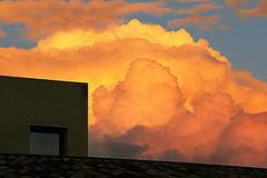 NUVOLONA AL TRAMONTO / CLOUDS AT SUNSET - EXPLORE #193. OCT.23.2015 (GIO_CRIS) Tags: explore 193 oct232015