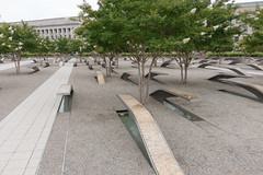 Pentagon Memorial (tik_tok) Tags: arlington virginia memorial unitedstates military 911 landmark september11 pentagon