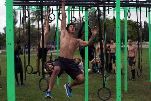 Monkey Bars at Battlefrog Miami 2015