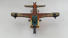Owl v2.0 (Hendri Kamaluddin) Tags: sky plane airplane war lego aircraft airship airforce squadron moc fighterplane skyfi fantasyplane victorysquadron