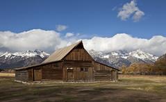 T. A. Moulton Barn (ramislevy) Tags: robertamislevyphotography mormon homestead antelopeflats mormonrow grandtetons wyoming barn