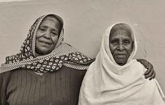 Mother and Daughter, Ethiopia (Rod Waddington) Tags: africa family two portrait people blackandwhite african daughter mother elderly afrika ethiopia ethnic ethnicity afrique ethiopian etiopia ethiopie etiopian tigray adigrat
