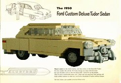 Ford Advert (LegoEng) Tags: ford sedan lego deluxe tudor american 50s 1950 legoeng