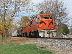 South Shore Freight (codeeightythree) Tags: railroad shoreline indiana css local freight keeps southbound laporte gp382 nkp laporteindiana southshorerailroad jointedrail southshorefreight nickleplaterailroad