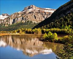 Derborence lake (Katarina 2353) Tags: autumn mountain lake alps reflection fall film nature field forest landscape switzerland nikon europe swiss derborence katarinastefanovic katarina2353