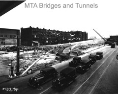 Manhattan Approach (mtabt_specialarchive) Tags: construction harlem manhattan eastharlem elevatedtrain laundryday triboroughbridge triborough