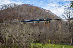 15-FtBlackmore (chipallen16) Tags: santa train virginia natural kentucky dante tunnel trains santatrain csx coppercreek crr clinchfield poolpoint