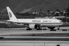 Air China Cargo Boeing 777-FT taxies at LAX (beltz6) Tags: losangeles california lax klax lax2015 laxspotters avgeek airplane aviation airport losangelesinternationalairport b2091 airchina airchinacargo 777 t7 boeing 777f boeing777