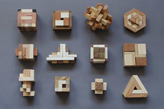 Collections (fred_v) Tags: flickrfriday puzzles wood cassetete bois collection collections explore