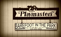 Barefoot in the Park (MTSOfan) Tags: signs playhouse performances neshaminystatepark barefootinthepark playmasters