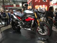 New Triumph Speed Triple R (Matt_Lodi) Tags: show new milan speed milano motorbike r triumph moto motorcycle triple rho speedtriple 2015 eicma triumphspeedtriple speedtripler my2016 speedtriplemy2016
