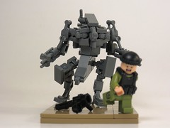 District 9 Mech (Grantmasters) Tags: lego district 9 micro mech