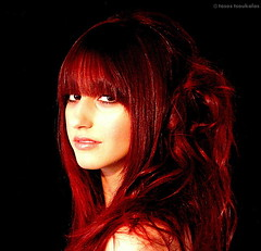 ''marian'' (Τάσος Τσουκαλάς 3.000.000views!!!!) Tags: portrait people black studio models indoor redhead haircuts styling backround tasostsoukalasphotography iosifnevradakis