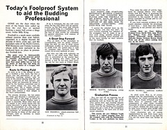 Leicester City vs Moscow Dynamo - 1970 - Page 10&11 (The Sky Strikers) Tags: street city news modern club ball paper moscow leicester young days international derek watts filbert challenging dingy scouting striker numbered dynamo schoolboys coached