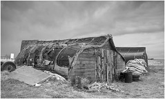 Lindisfarne hut (loftylion9) Tags: storm sunrise gales northumberland bamburgh holyisland lindisfarne stmarys blyth amble stmaryslighthouse dunstanburghcastle embleton coquetisland blythbeach lowhauxley bambirghcastle