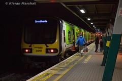 29011 at Connolly, 12/12/15 (hurricanemk1c) Tags: dublin irish train rail railway trains commuter railways caf irishrail 2015 connolly iarnród éireann iarnródéireann 29011 class29000 1830pearsedrogheda