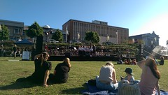 Listening to some Star Wars played some local youth orchestras in Civic Park (phempsall) Tags: park starwars orchestra johnwilliams civicpark