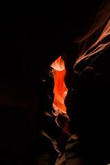 Upper Antelope Canyon Grainy Dec 27 2015 Bear Formation-3453 (houstonryan) Tags: arizona art nature print lens landscape photography utah carved nikon sandstone photographer ryan cut nation houston az canyon tokina erosion upper photograph page antelope navajo redrock slot narrow flashflood 1118mm d300s houstonryan hosutonryan pohtograph