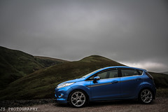 JS 0126 (js.photography1990) Tags: trees ford car clouds canon scotland countryside cool fiesta diesel scottish s hills modified borders zetec zetecs