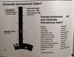 American LaGuardia diagram, 2001 (airbus777) Tags: americanairlines lga newyorklaguardia airport diagram map 2001