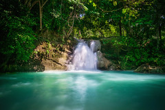 Panas Waterfall (Hendraxu) Tags: waterfall falls nature teal water mindanao tagum city davao philippines panas landscape