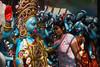 HOMMAGE A KALI (Cathy Le Scolan-Quéré Photographies) Tags: kali statue déesse kolkata inde westbengale bengaleoccidental divinité indienne couleurs rue kumartuli puja cérémonie kalipuja catherinelescolanquéré