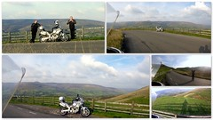 Little ride out.. (Mike-Lee) Tags: bike cagivanavigator1000 motorbike rideout fuel oct2016 mike clone clones deryshire peakdistrict collage picasa mamtor