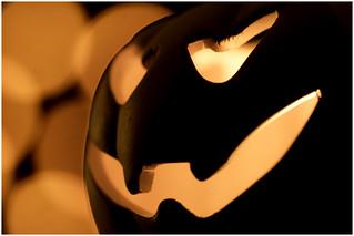 Macro Mondays - Spooky and Frightful – Pumpkin Tea Light Holder
