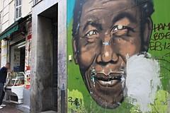 Marseille, quartier Noailles (Jeanne Menj) Tags: marseille quartiernoailles mandela streetart graffitis