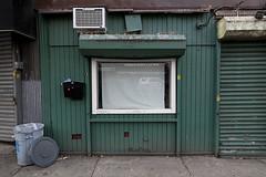 Store Front, Greenpoint, Brooklyn, 2016 (Jack Toolin) Tags: brooklyn jacktoolin newyorkcity storefronts stores urban urbanstudies urbanphotography urbanwalls cities city walls shops closed