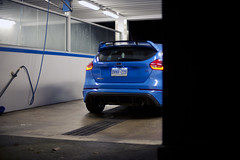 Ford Focus RS (B. R. Murphy) Tags: ford focus rs nikon d610 blue awd sports car hot hatch hothatch fast angry smurf