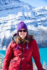 (mikeyb.0101) Tags: peytolake peyto lake snow winter banff alberta canada girl woman