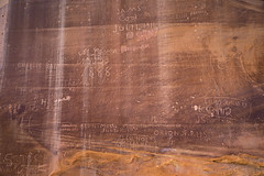 Graffitt Wall in Capitol Gorge (jeff_a_goldberg) Tags: nationalparkservice utah capitolreefnationalpark landscape nps capitolgorge nature torrey unitedstates us