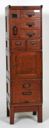 Nice Oak Stack File Cabinet ($728.00)