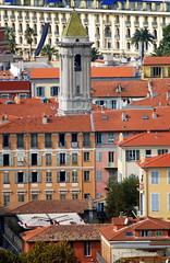 The Old Town (Vielle Ville) seen from Colline de Chateau (Castle Hill), Nice. (Roly-sisaphus) Tags: nice southoffrance cotedazure frenchriviera nikond802016dsc1062